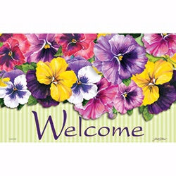 "Sign Insert-Positively Pansies (6.5"" x 10.5"")"