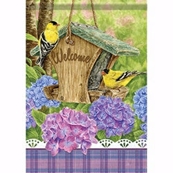 "Flag-Garden-Finch Feeder (12.5"" x 18"")"