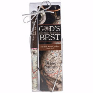 Dad-Pen & God's Direction Is Always Best Gift Set