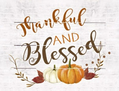 Rustic Pallet Art-Thankful And Blessed (White) (9