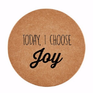 Coasters-Today  I Choose Joy (Pack Of 8)