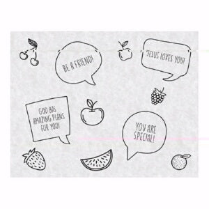 Snack Sheets-Just For Kids (Pack of 25)