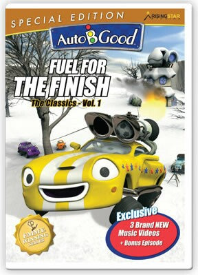 Auto-B-Good: Fuel For The Finish DVD