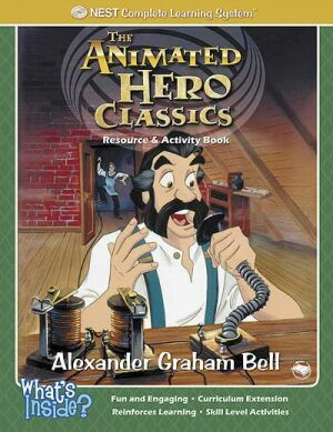 Alexander Graham Bell Activity And Coloring Book Instant Download