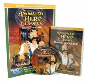 The Animated Story Of Alexander Graham Bell Video On Interactive DVD