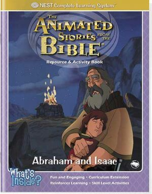 Abraham And Isaac Activity And Coloring Book - Instant Download