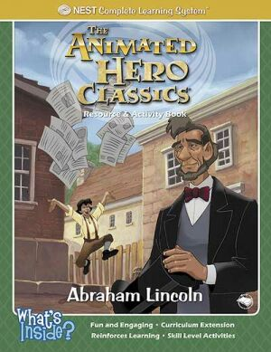 Abraham Lincoln Activity And Coloring Book - Instant Download Instant Download