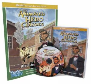 The Animated Story Of Abraham Lincoln Video On Interactive DVD