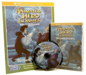 The Animated Story Of Benjamin Franklin Video On Interactive DVD