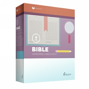 LIFEPAC Fourth Grade Bible Set of 10 LIFEPACs Only