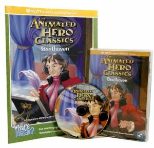 The Animated Story Of Beethoven Video On Interactive DVD