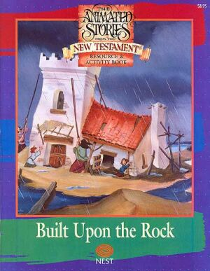 Built Upon The Rock Activity And Coloring Book - Instant Download