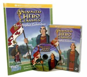 The Animated Story Of Christopher Columbus Video On Interactive DVD