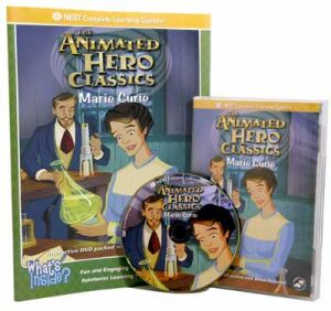The Animated Story Of Marie Curie Video On Interactive DVD