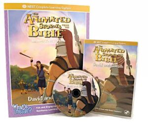 The Story Of David And Goliath Video On Interactive DVD
