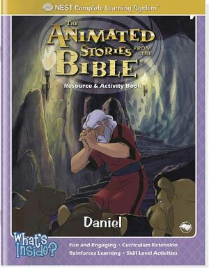 Daniel Activity And Coloring Book - Instant Download