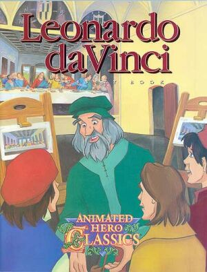 Leonardo Da Vinci Activity And Coloring Book Instant Download