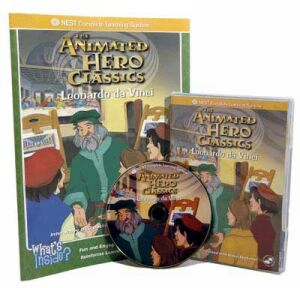 The Animated Story Of Leonardo Da Vinci Video On Interactive DVD