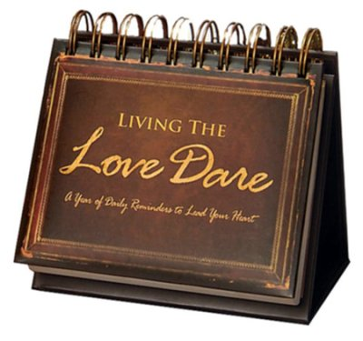 Living The Love Dare: 365 Day Calendar Flipbook