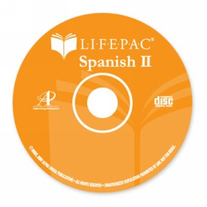 LIFEPAC Spanish 2 CD for LIFEPACS 1-5