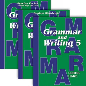 Complete Homeschool Kit Grammar & Writing Gr 5
