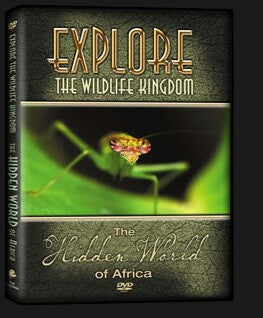 Explore The Wildlife Kingdom : THE HIDDEN WORLD of Africa DVD