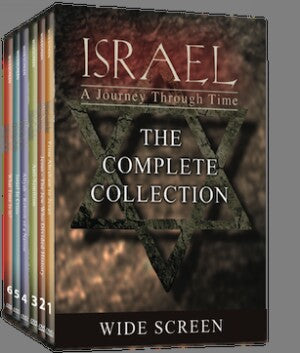 Israel, A Journey Through Time: 6 DVD Set