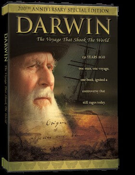 Darwin-The Voyage That Shook the World DVD