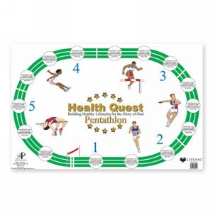LIFEPAC Health Quest Poster