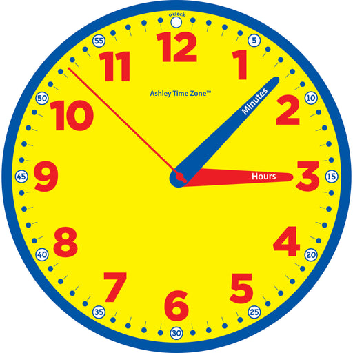 Time Zone 12in Instruction Clock