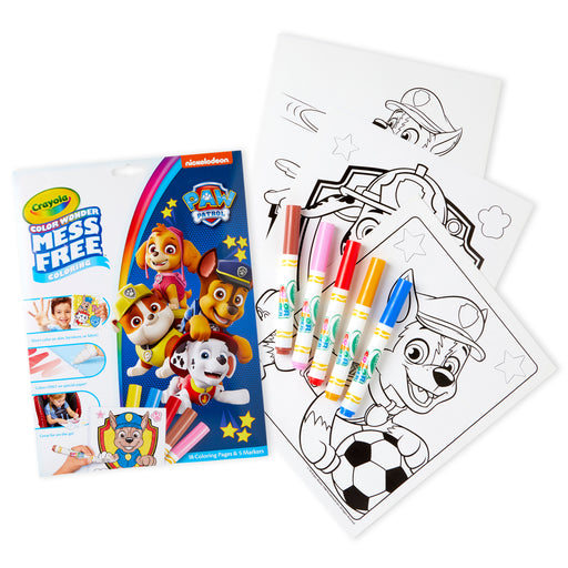 Coloring Pad & Markers Paw Patrol Color Wonder