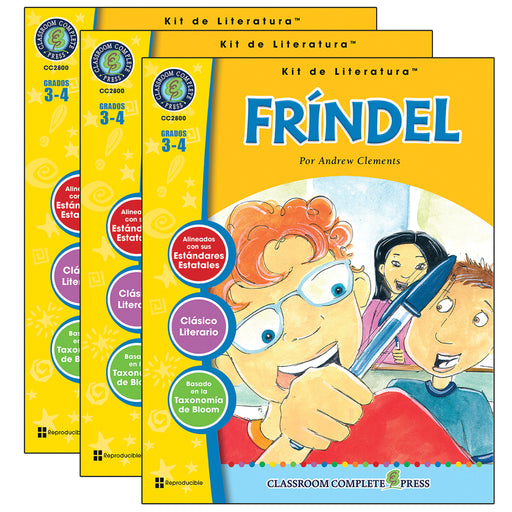 (3 Ea) Frindel Literature Kit Spanish