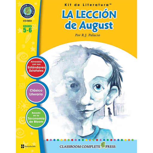 La Leccion De August Literature Kit Spanish