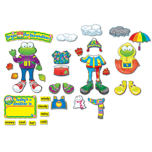 (2 St) Weather Frog Bb Sets Gr Pk-3 Early Learning
