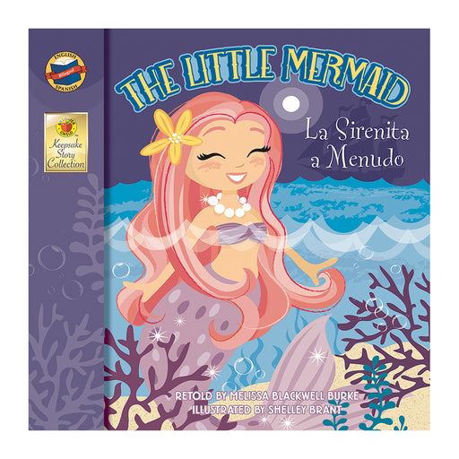 The Little Mermaid Storybook Bilingual Grade Pk-3
