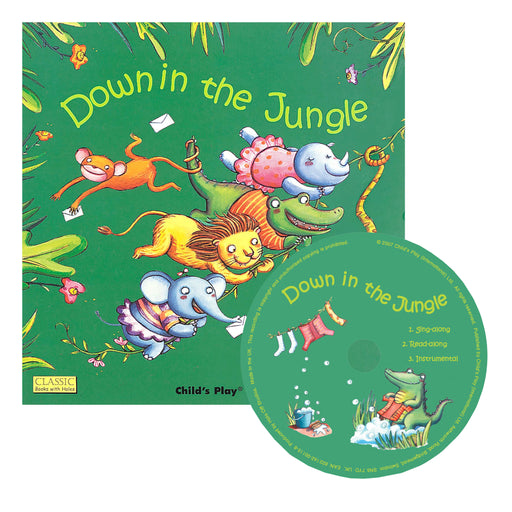 Down In The Jungle Classic Books With Holes Plus Cd