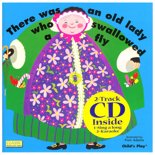 Old Lady Who Swallowed A Fly & Cd