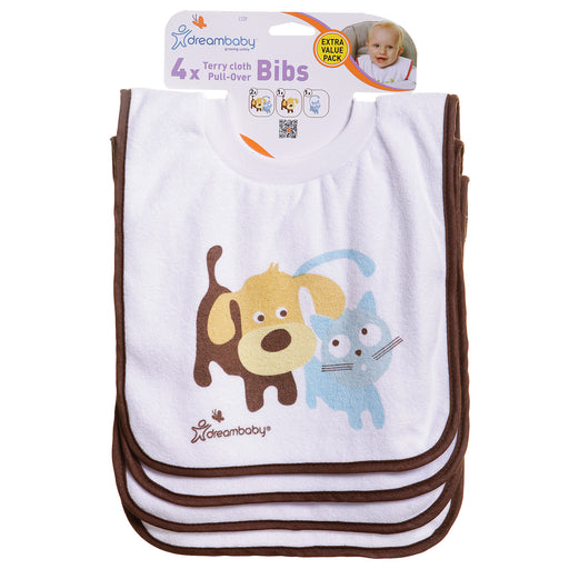 Terry Cloth Pull Over Bibs
