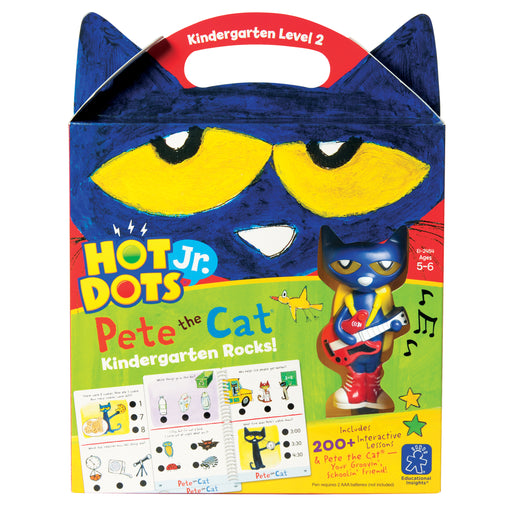 Hot Dots Jr Pete The Cat Kindergarten Rocks & Pen