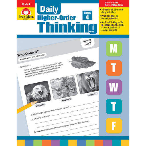 Daily Higher Order Thinking Gr 4