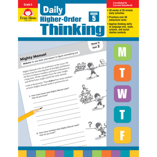 Daily Higher Order Thinking Gr 5