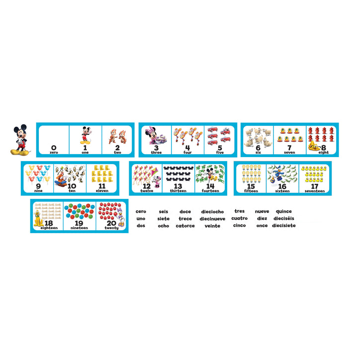 (2 St) Mickey Mouse Clubhouse Number Set