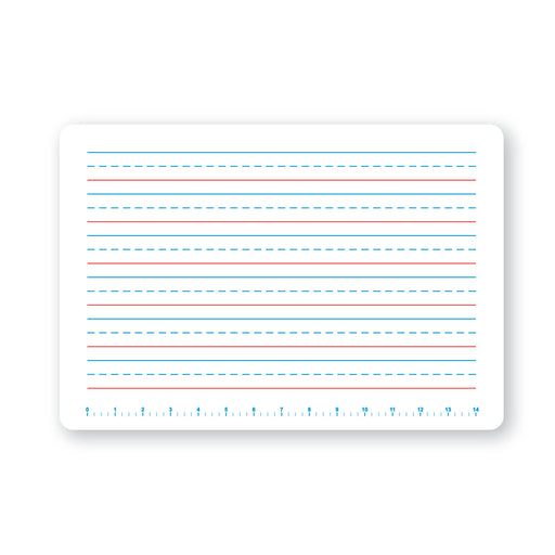 (3 Ea) Single Primary Handwriting Dry Erase Board