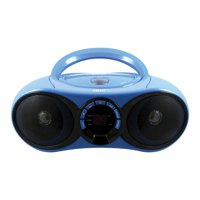 Cd-fm-bluetooth Media Player & 6 Station Listening Centr Headphones
