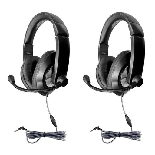 (2 Ea) Headset W- Volume Contrl 3.5mm Trrs