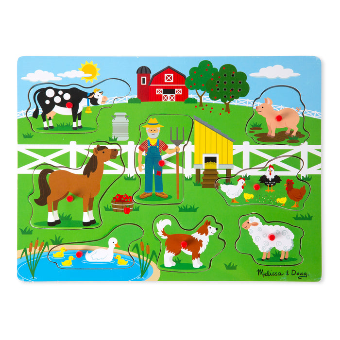 Old Macdonalds Farm Sound Puzzle