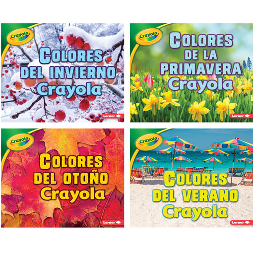 Crayola Seasons Books Spanish Set Of 4
