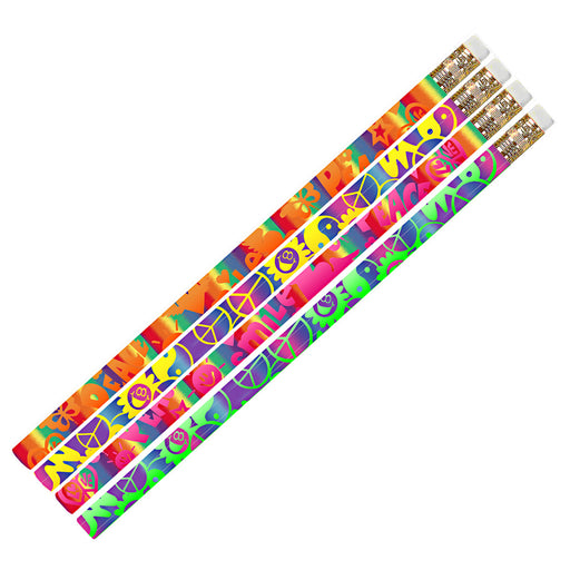 (12 Dz) Peace Pencils 12 Per Pk