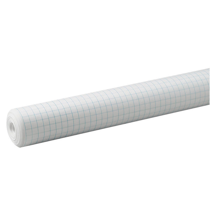 .5 In Grid Paper Roll White 34in By 200ft