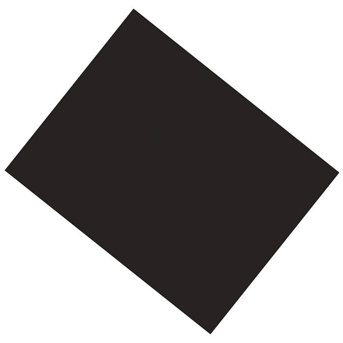 Black Coated Poster Board 25 Sheets 22 X 28